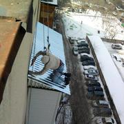 Монтаж балконного козырька в Алматы 87771668297!